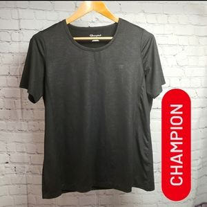 Champion Reflective Workout Top Running Gym Active